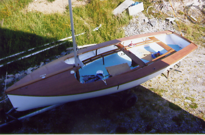 Restoration of National 18   Wooden boat builder, Boat for ...