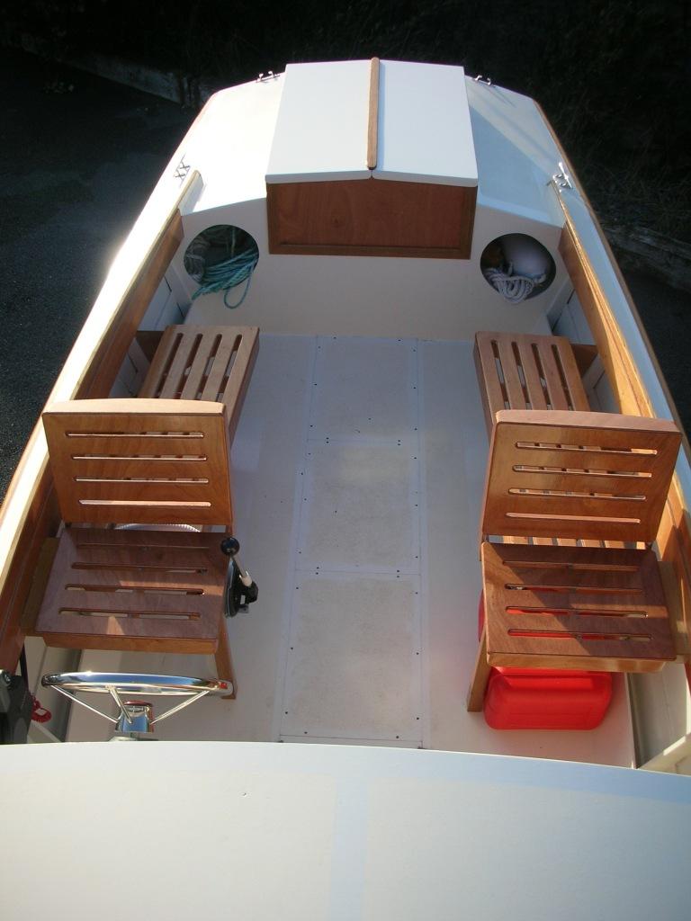 22′Ninigret   Wooden boat builder, Boat for sale, power ...