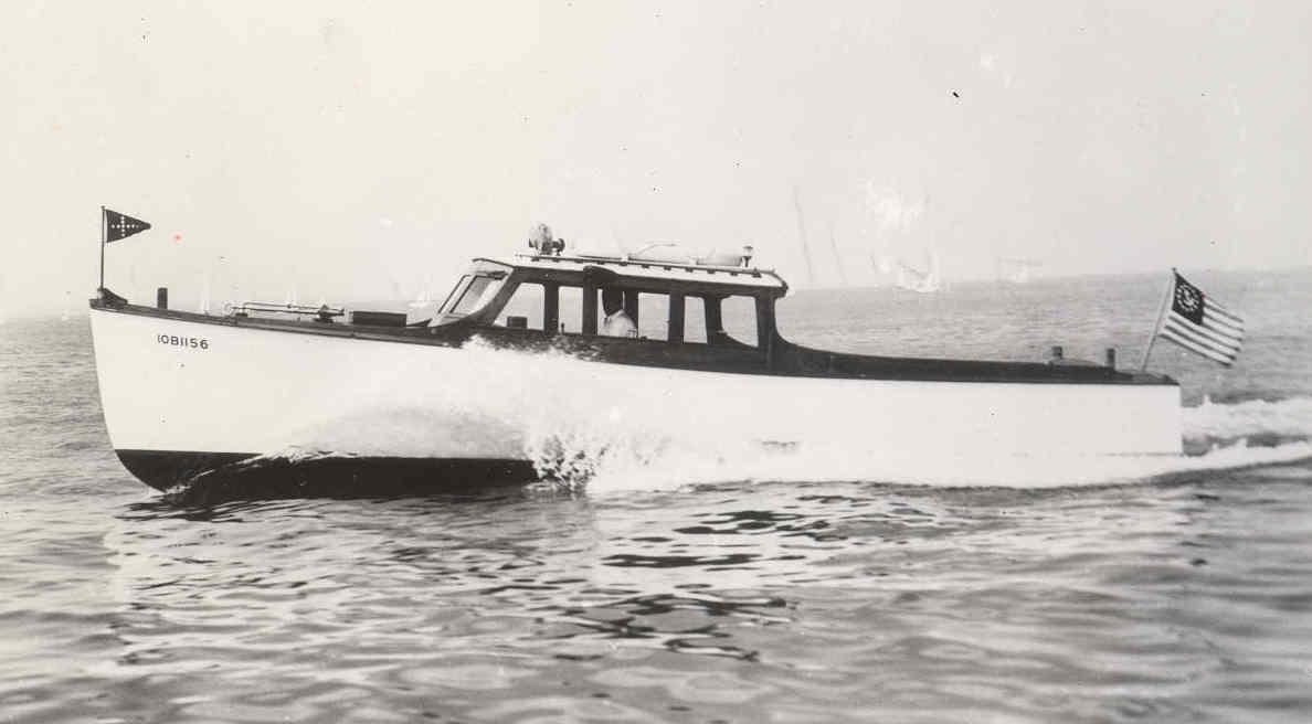 John Alden 1938 Quill 32'motor cruiser / day boat | Wooden boat builder, Boat for sale, power ...