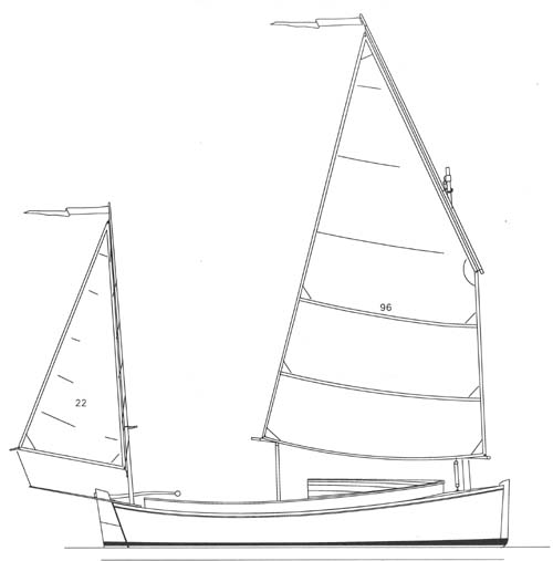 catbird16_yawl wooden daysailor built by Roeboats, Cork Ireland for sale