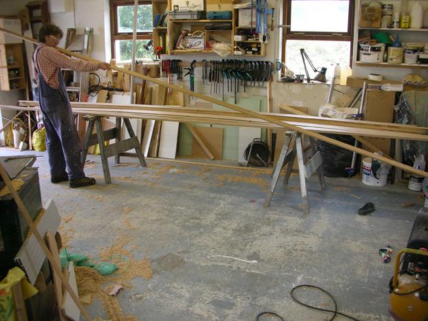 Wooden Sharpie Sailboat Plans