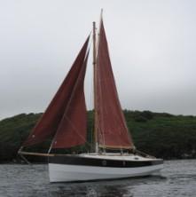 Cape Henry 21' Gaff Cutter