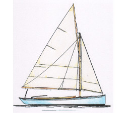 21' Classic Sloop Day-Boat