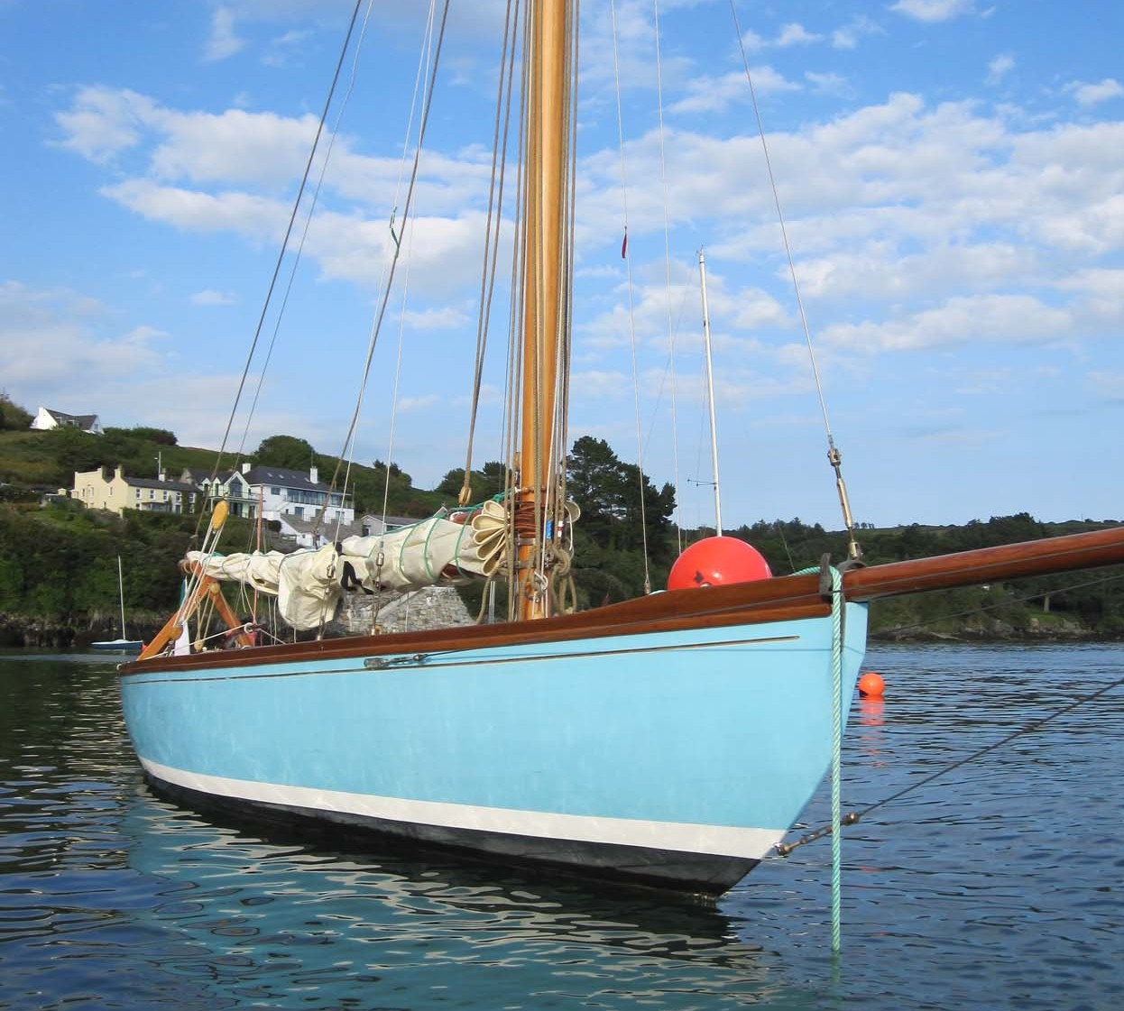 Sailboats | Wooden boat builder, Boat for sale, power, sail, classic ...
