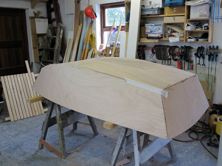 7' tender, dink, rowboat for 16' sharpie dayboat