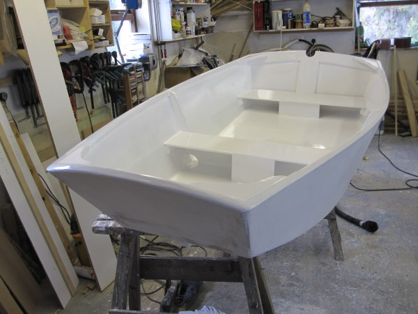 7' Dink punt top coated gloss paint