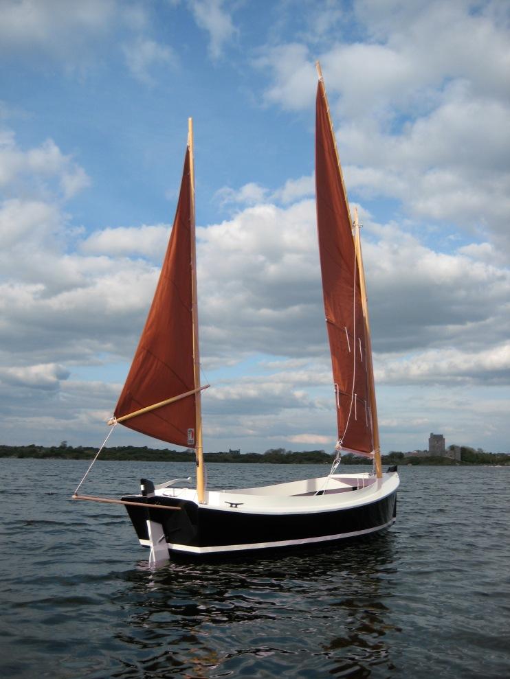 catbird 16 custom wooden boat