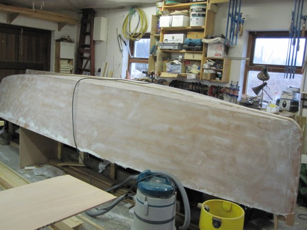 16' Sharpie sheathed in fiberglass and epoxy