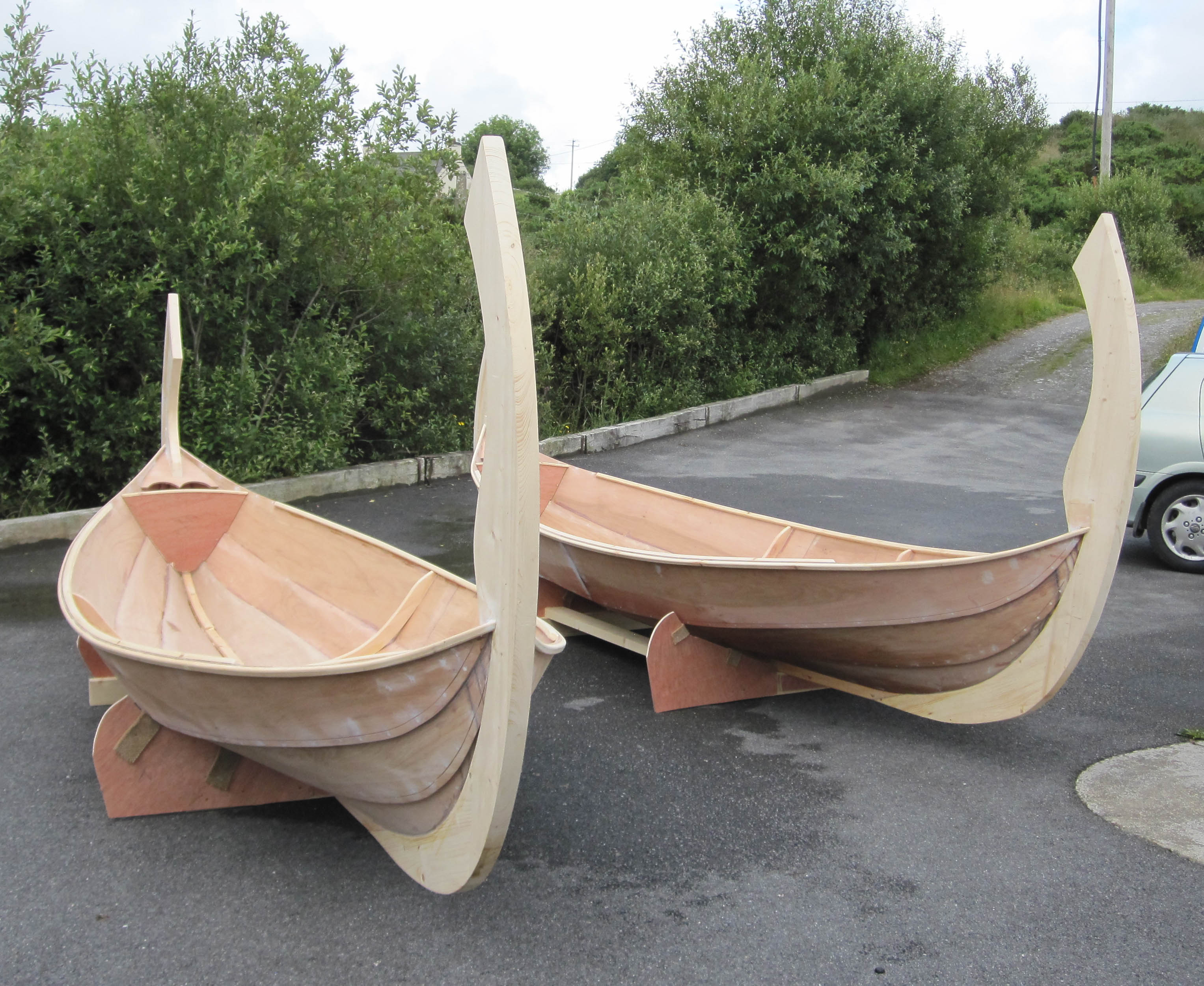 16 Faering Wooden Boat Builder Boat For Sale Power