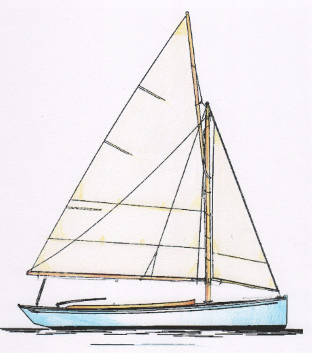 21' Classic Sloop Day Boat