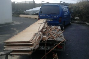 Wood for starting new boat