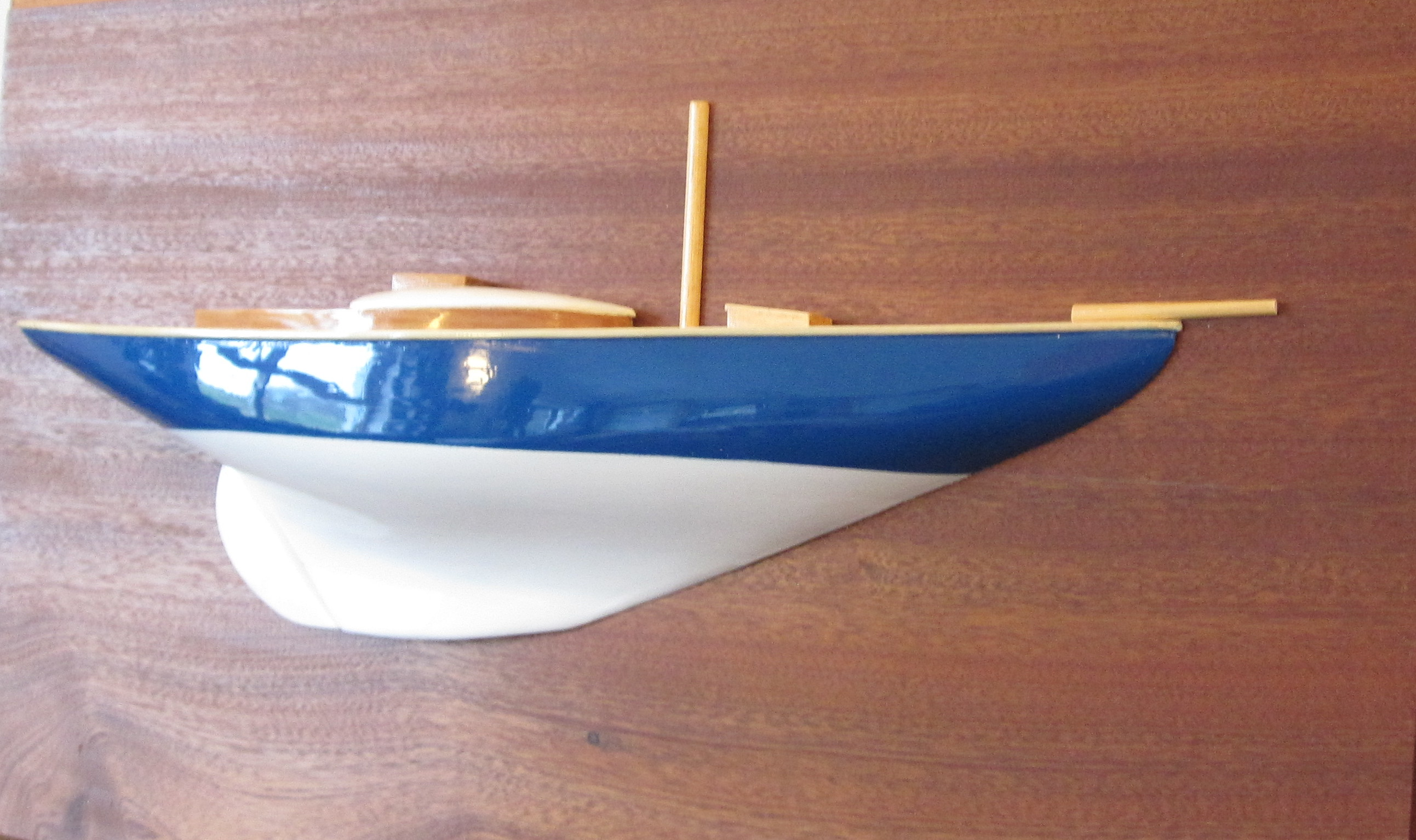 Half hull of Dublin Bay 21′ finished. | Wooden boat builder, Boat for sale, power, sail, classic ...