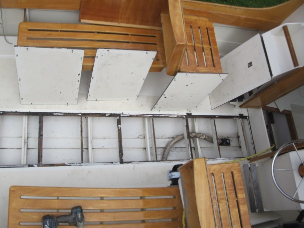 View of Bilge and easy access