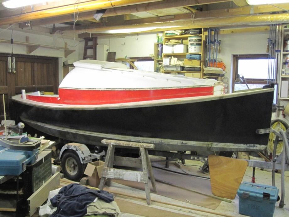 16' Micro Cruising sail boat